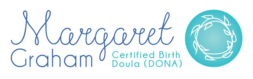 margaret graham doula logo design